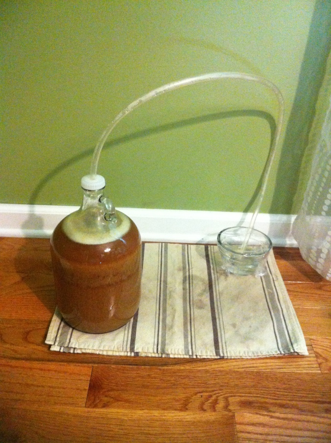 making beer
