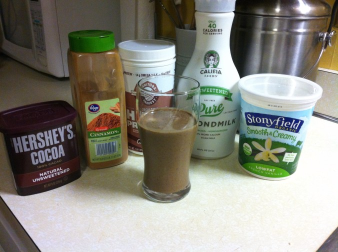 Mexican Chocolate Shakes