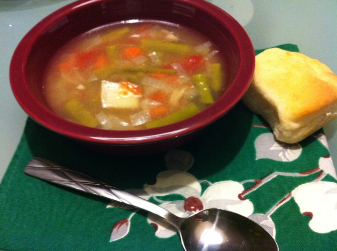 Turkey Leftovers Soup (1)