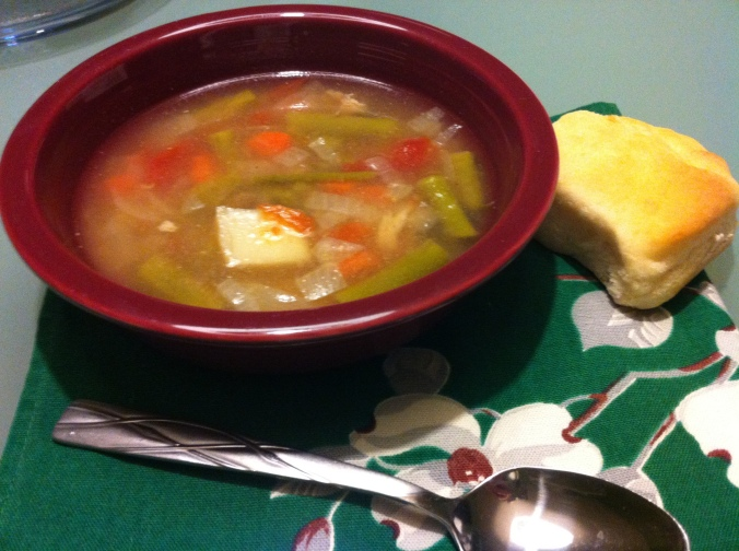 Turkey Leftovers Soup (2)