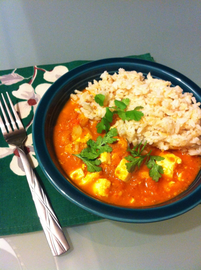 Toful Cauliflower Korma